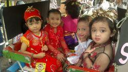 Meriahnya Anak-Anak Merayakan Hari Kartini di Sekolah