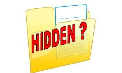 Langkah Menampilkan File Hidden (Files Folder)