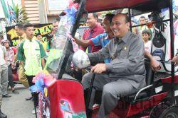 Mobil Golf Rakitan SMK Multi Karya Mendapat Pujian dari Wagub Sumut
