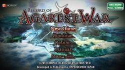 Hyperdevbox Rencanakan Bawa RPG Record of Agarest War ke Platform iOS