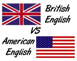 America dan British English