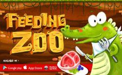Feeding Zoo, Seruna Bermain Puzzle di Kebun Binatang