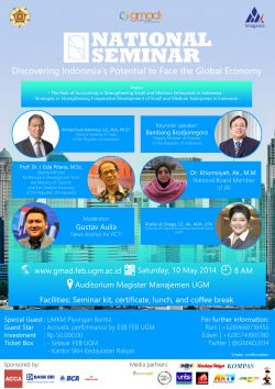 Gadjah Mada Accounting Days (Gmad) 2014