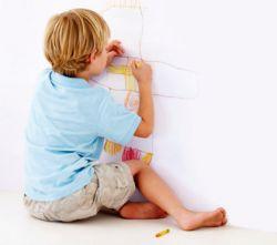 Mengatasi Anak yang Suka Corat-Coret di Dinding