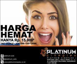 Harga Hemat Platinum Cineplex