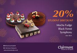 Clairmont Cakes Promo