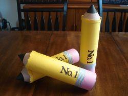 Menciptakan Tempat Pensil dari Kemasan