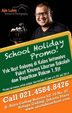School Holiday Promo!