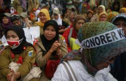 Ribuan Guru Madrasah Desak Pemerintah Agar di CPNS Kan