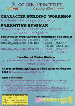 Character Building Workshop