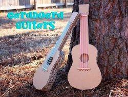 Tidak Hanya dari Kayu, Gitar Bisa Terbuat dari Kardus Loh!