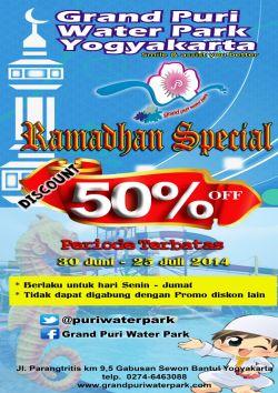 Grand Puri Water Park Ramadhan Promo