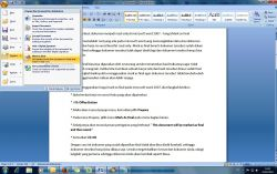 Membuat Dokumen Menjadi Read Only di Microsoft Word 2007 dengan Mark AS Final