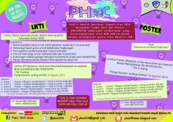 Public Health National Competition (PHNC) 2014