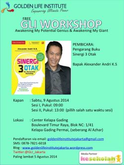 Golden Life Institute Workshop