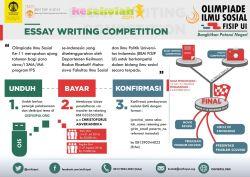 OIS FISIP UI: Essay Writing Competition dengan Tema Potensi Daerah