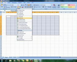 Tips Membuat Tabel pada Microsoft Excel