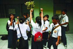 Mantap! SMP Terbuka Semakin Berkualitas dalam Bidang Kerajinan