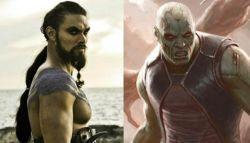 Tampilan Drax Versi Jason Mamoa