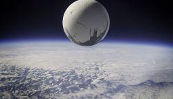 Tampilan Logo Destiny Versi Nyata