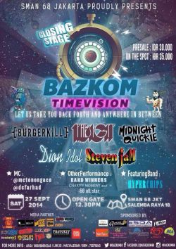 Bazkom Time Vision 2014: Closing Stage