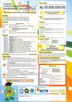Forum Ilmiah Matematika Nasional 2014