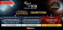 Pendaftaran Icg Lol Competition Qualification I Telah Dibuka!