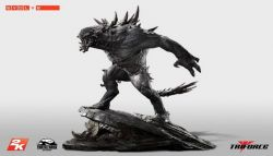 2k Games Ungkap Replika Monster Goliath Evolve