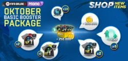 Jangan Lewatkan Update New Item Shop October Basic Booster Package di Fifa Online 3 Indonesia