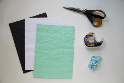 Hiasan Dinding dari Kertas Honeycomb