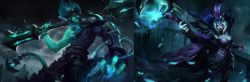 Skin Ravenborn Leblanc dan Underworld Wukong Telah Hadir di League of Legends Indonesia