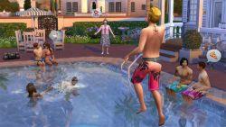 Para Sims Sekarang Sudah Bisa Berenang Melalui Kolam Renang di The Sims 4
