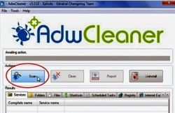 Cara Menghapus Search Engine Palsu dengan Adware Cleaner