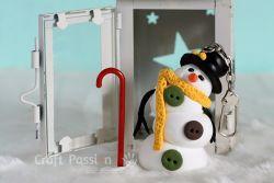Boneka Salju dari Tanah Liat
