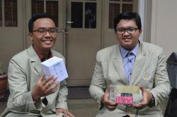 Dua Mahasiswa UGM Ciptakan Tablet Khusus Penyandang Tuna Netra