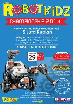 Awarding Robotkidz Championship 2014