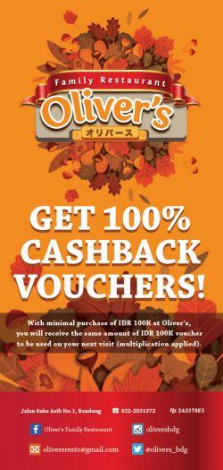 Get Cashback Voucher 100 Persen