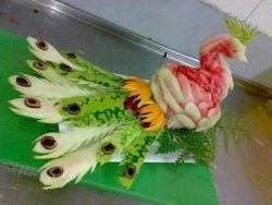 Fruit Carving, Seni Ukir Buah Mengagumkan