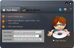 Copy DVD File ke Hardisk dengan DVD Smith Movie Backup