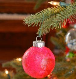 Membuat Ornamen Natal