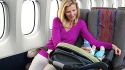 Tips Aman dan Nyaman Bepergian Naik Pesawat Bersama Bayi Anda