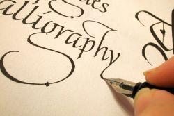 Seni Kaligrafi dari Dua Aliran Berbeda