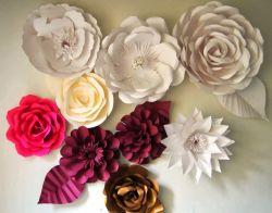 Kreasi Mawar Cantik dari Kertas