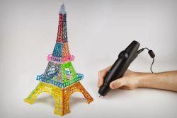 Gambar 3D dengan Pensil 3D Pertama di Dunia!