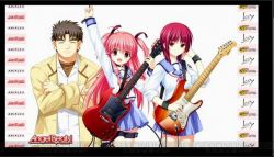 Key Akan Merilis Game Angel Beats! 1st Beat