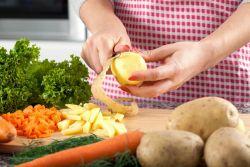 Buah dan Sayuran yang Tidak Perlu Dikupas Kulitnya