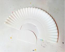 Mosaik Pelangi dari Paper Plate