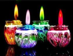 Membuat Lilin Hias dari Mentega