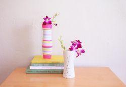 Vas Bunga dari Gelas Plastik