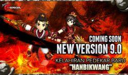 Hadirnya Pendekar Baru Hanbikwang di Update Versi 9.0 Yulgang Online Indonesia